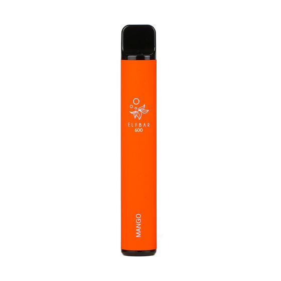 [OEM] Elf Bar Disposable Pod Device 600 Puffs Flavor: Mango | Strength: 2% Nicotine cheap