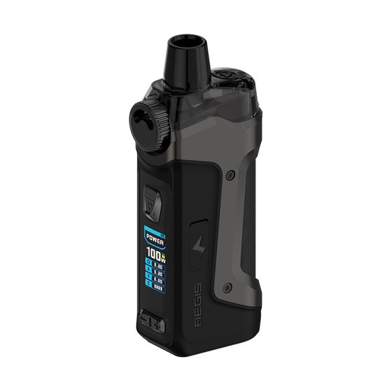Geekvape Aegis Boost Pro 100W 18650 Pod Kit Type: 2ml TPD Edition | Color: Gunmetal UK shop