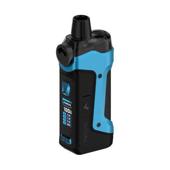 Geekvape Aegis Boost Pro 100W 18650 Pod Kit Type: 2ml TPD Edition | Color: Blue UK supplier