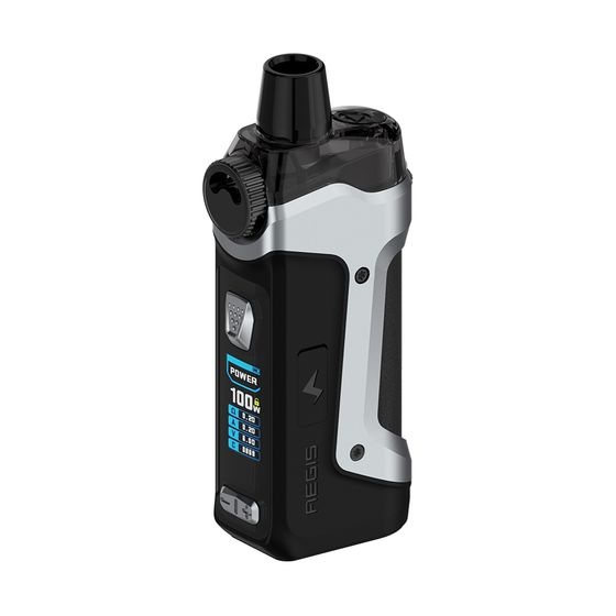 Geekvape Aegis Boost Pro 100W 18650 Pod Kit Type: 2ml TPD Edition | Color: Silver wholesale price