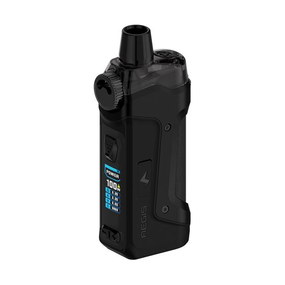Geekvape Aegis Boost Pro 100W 18650 Pod Kit Type: 2ml TPD Edition | Color: Black UK shop