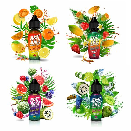 Just Juice Exotic Fruits Shortfill 50ml wholesale price