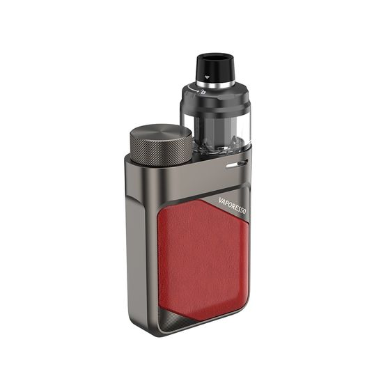 wholesale Vaporesso Swag PX80 80W 18650 Pod Kit Type: 2ml TPD Edition | Color: Imperial Red