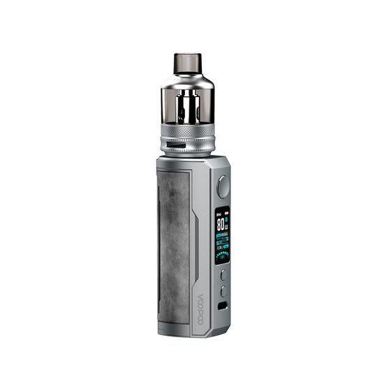 VOOPOO DRAG X Plus 100W Pod Kit Type: TPD Edition | Color: Smoky Grey for wholesale