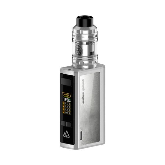 Geekvape Obelisk 120 FC Kit 3700mAh with Z Subohm Tank Type: TPD Edition without Adapter | Color: Silver UK store