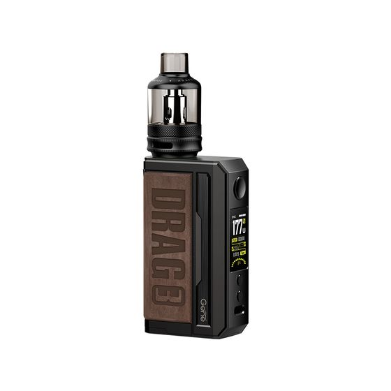 VOOPOO DRAG 3 177W TC Kit with TPP Tank Color: Sandy Brown | Type: TPD Edition UK supplier