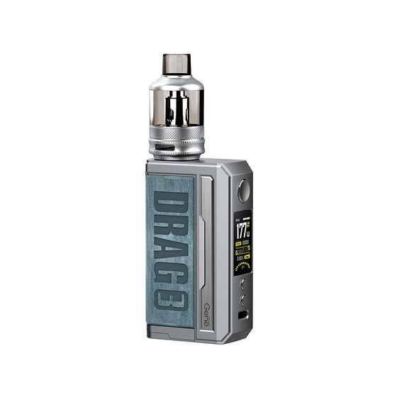 VOOPOO DRAG 3 177W TC Kit with TPP Tank Color: Prussian Blue | Type: TPD Edition wholesale