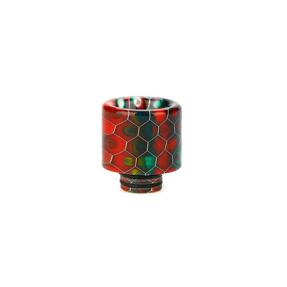 510/810 Multi-functional Resin Drip Tip Color: Rainbow UK store