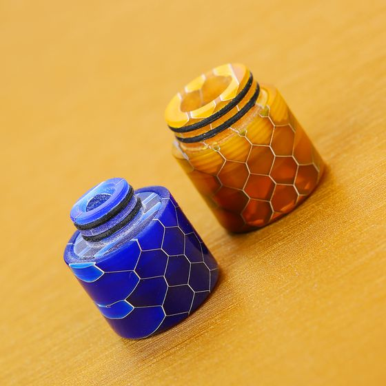UK shop 510/810 Multi-functional Resin Drip Tip