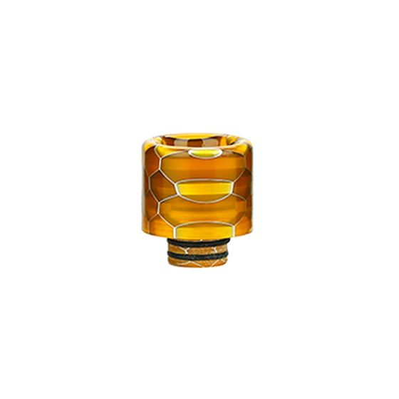 510/810 Multi-functional Resin Drip Tip Color: Yellow authentic