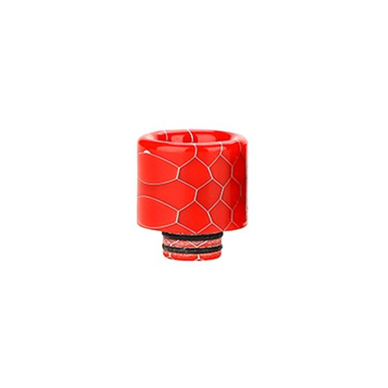 510/810 Multi-functional Resin Drip Tip Color: Red cheap