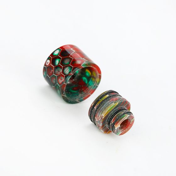 authentic 510/810 Multi-functional Resin Drip Tip