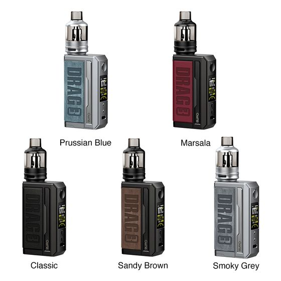 UK store VOOPOO DRAG 3 177W TC Kit with TPP Tank