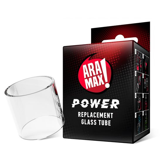 ARAMAX Power Replacement Glass Tube 5ml UK wholesale