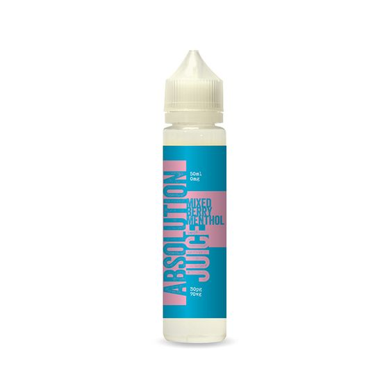 for wholesale Absolution Juice E-liquid 50ml Flavor: Mixed Berry Menthol | Strength: 0mg/ml