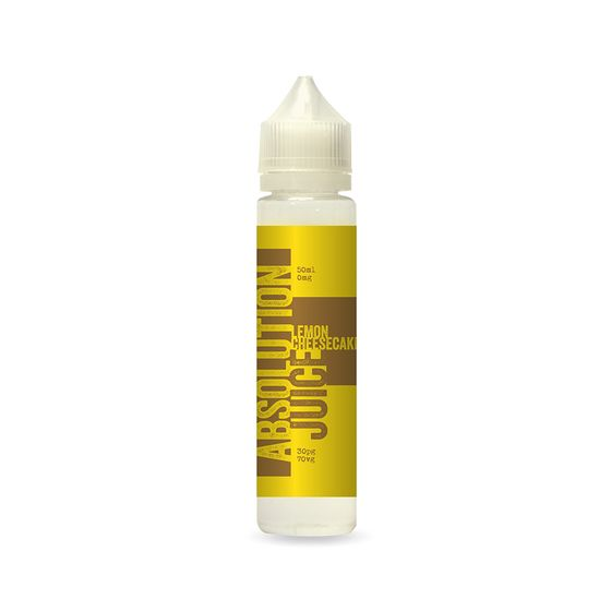 Absolution Juice E-liquid 50ml Flavor: Lemon Cheesecake | Strength: 0mg/ml UK wholesale