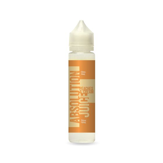 Absolution Juice E-liquid 50ml Flavor: Peaches and Cream | Strength: 0mg/ml cheap