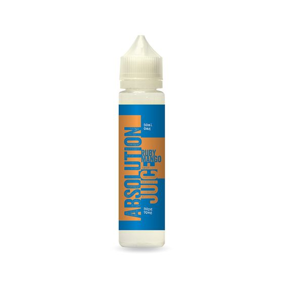 Absolution Juice E-liquid 50ml Flavor: Ruby Mango | Strength: 0mg/ml wholesale price