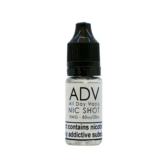 All Day Vape NIC SHOT 10ML 18MG wholesale