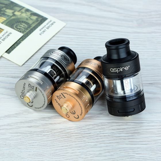 authentic Aspire Cleito 120 Pro Subohm Tank 2ml