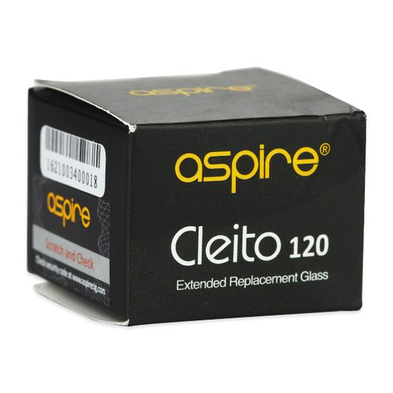 Aspire Cleito 120 Replacement Pyrex Tube 5ml/4ml original
