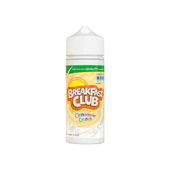 Breakfast Club Shortfill 100ml Strength: 0mg/ml | Flavor: Cinnamon Crunch UK wholesale