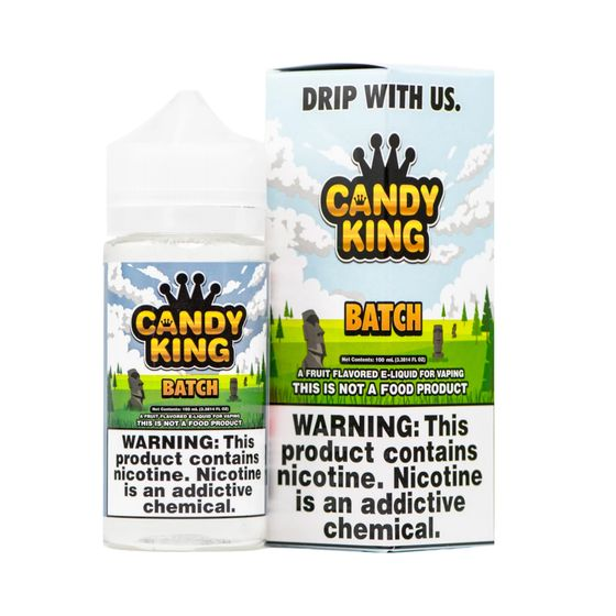 Candy King 100ml Shortfill Flavor: Batch UK store