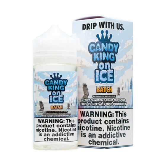 wholesale Candy King 100ml Shortfill Flavor: Batch On Ice