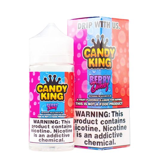 wholesale price Candy King 100ml Shortfill Flavor: Berry Dweebz