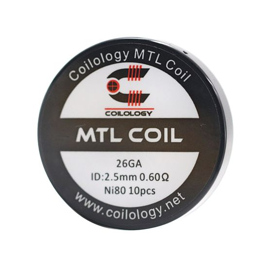 Coilology MTL Series Coil 10pcs/24pcs Type: MTL Coil 10pcs | Resistance: Ni80 0.6ohm cheap