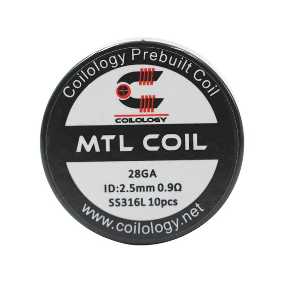 Coilology MTL Series Coil 10pcs/24pcs Type: MTL Coil 10pcs | Resistance: SS316L 0.9ohm cheap