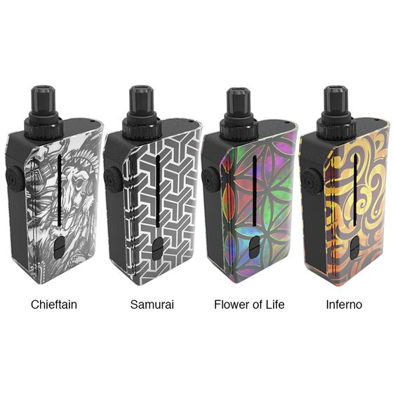 UK shop [Coming Soon] Squid Industries Squad Rebuildable TC Pod Kit 950mAh
