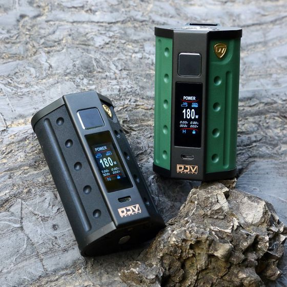 wholesale DEJAVU DJV D7 180W Touch Screen TC Box MOD