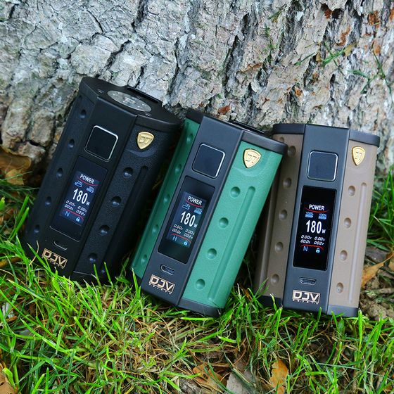 DEJAVU DJV D7 180W Touch Screen TC Box MOD for wholesale