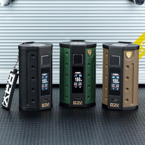DEJAVU DJV D7 180W Touch Screen TC Box MOD wholesale