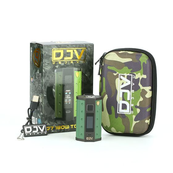 DEJAVU DJV D7 180W Touch Screen TC Box MOD UK shop