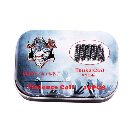 shop Demon Killer Kanthal Prebuilt Voilence Coil 10pcs