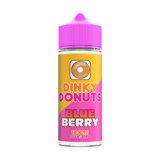 Dinky Donuts Shortfill 100ml 0mg Flavor: Blueberry | Strength: 0mg/ml wholesale price