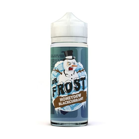 authentic Dr Frost 100ml Shortfill E-Liquid Honeydew & Blackcurrant Ice