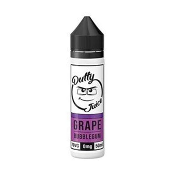 Dutty Juice 50ml Shortfill Flavor: Grape Bubblegum authentic