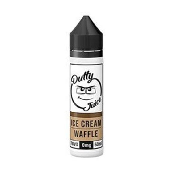 UK shop Dutty Juice 50ml Shortfill Flavor: Ice cream Waffle
