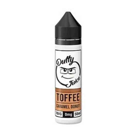 wholesale Dutty Juice 50ml Shortfill Flavor: Toffee Caramel Donut