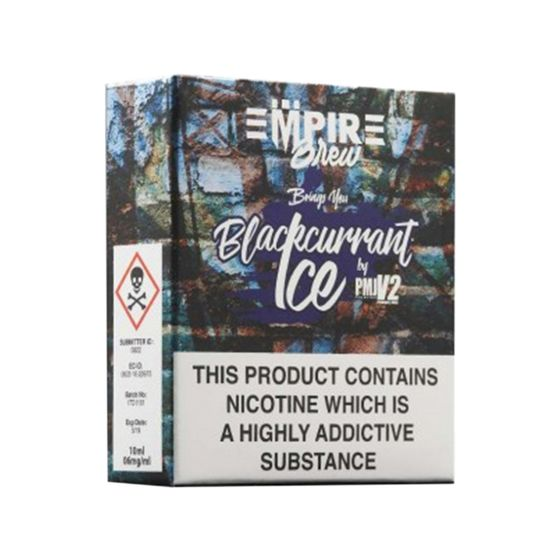 Empire Brew 3*10ml 6mg (3 in 1) Flavor: Blackcurrant Ice | Strength: 6mg/ml authentic