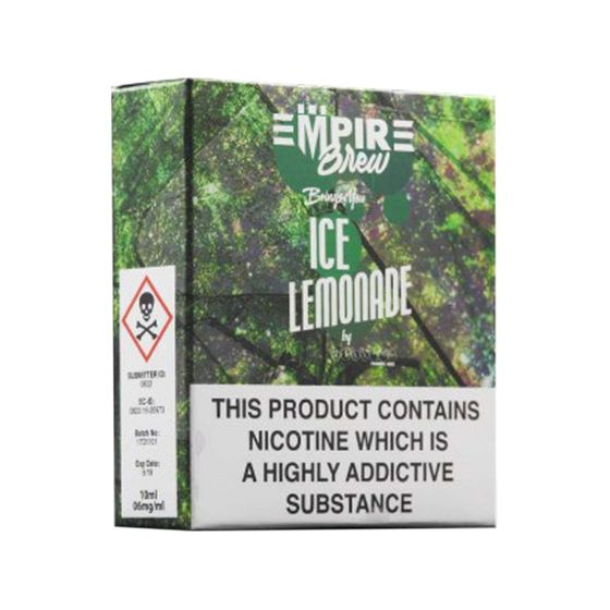UK wholesale Empire Brew 3*10ml 6mg (3 in 1) Flavor: Ice Lemonade