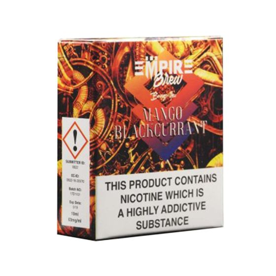 Empire Brew 3*10ml 6mg (3 in 1) Flavor: Mango Blackcurrant for wholesale