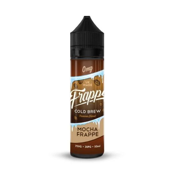 Frappe E-Liquid 50ml Shortfill Flavor: Mocha UK shop