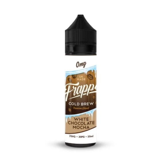 UK shop Frappe E-Liquid 50ml Shortfill Flavor: White Chocolate Mocha