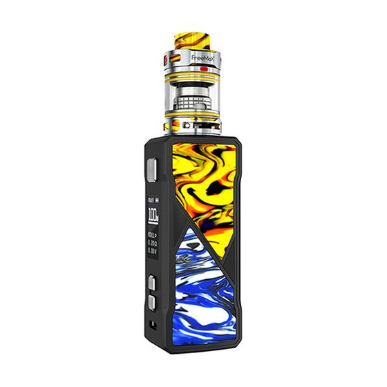 wholesale Freemax Maxus 100W TC Kit Type: TPD Edition | Color: Yellow & Blue