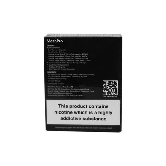 Freemax Mesh Pro Subohm Tank 2ml cheap