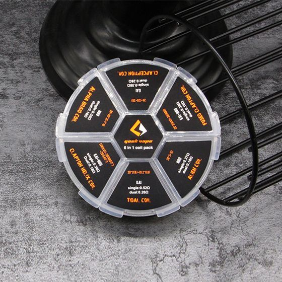 shop GeekVape 6 in 1 Coil Pack 20pcs